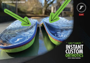 Custom Arch Support + Shock absorption
